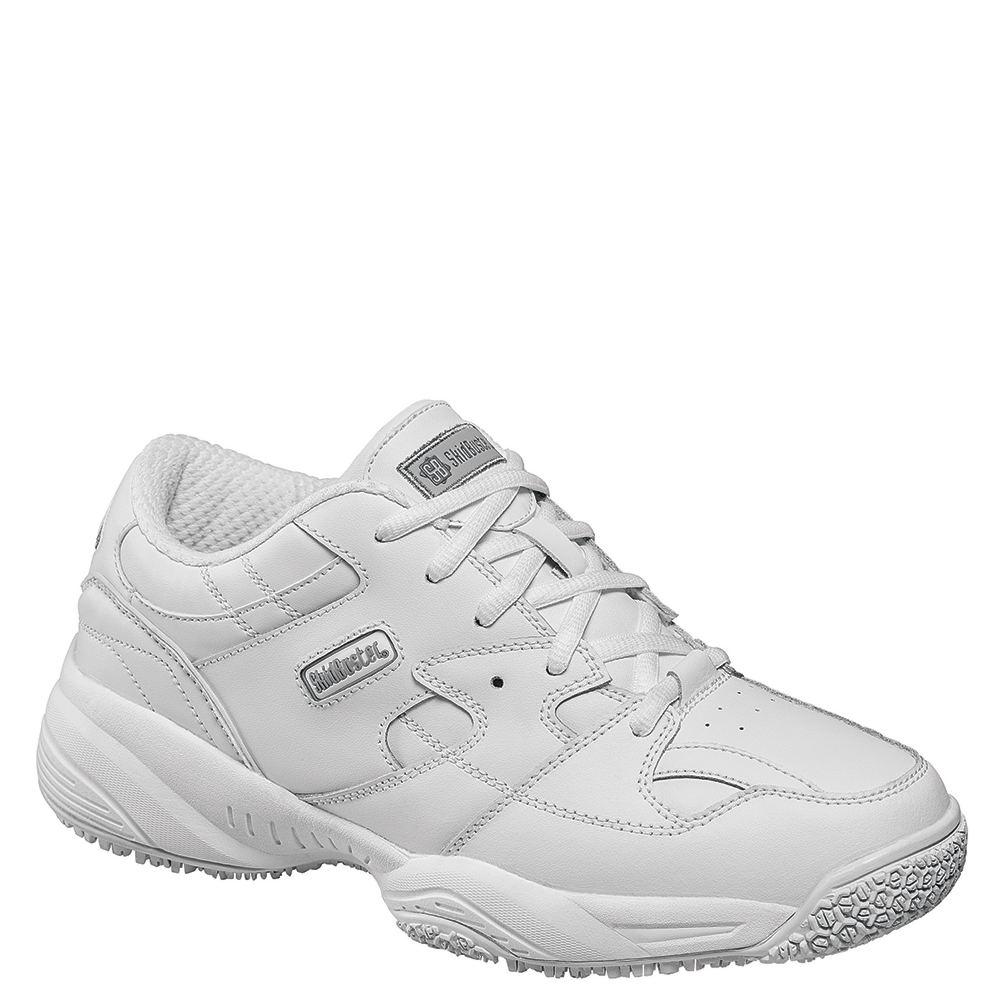 Skidbuster Soft Toe Slip Resistant Women's White Oxford 7 M