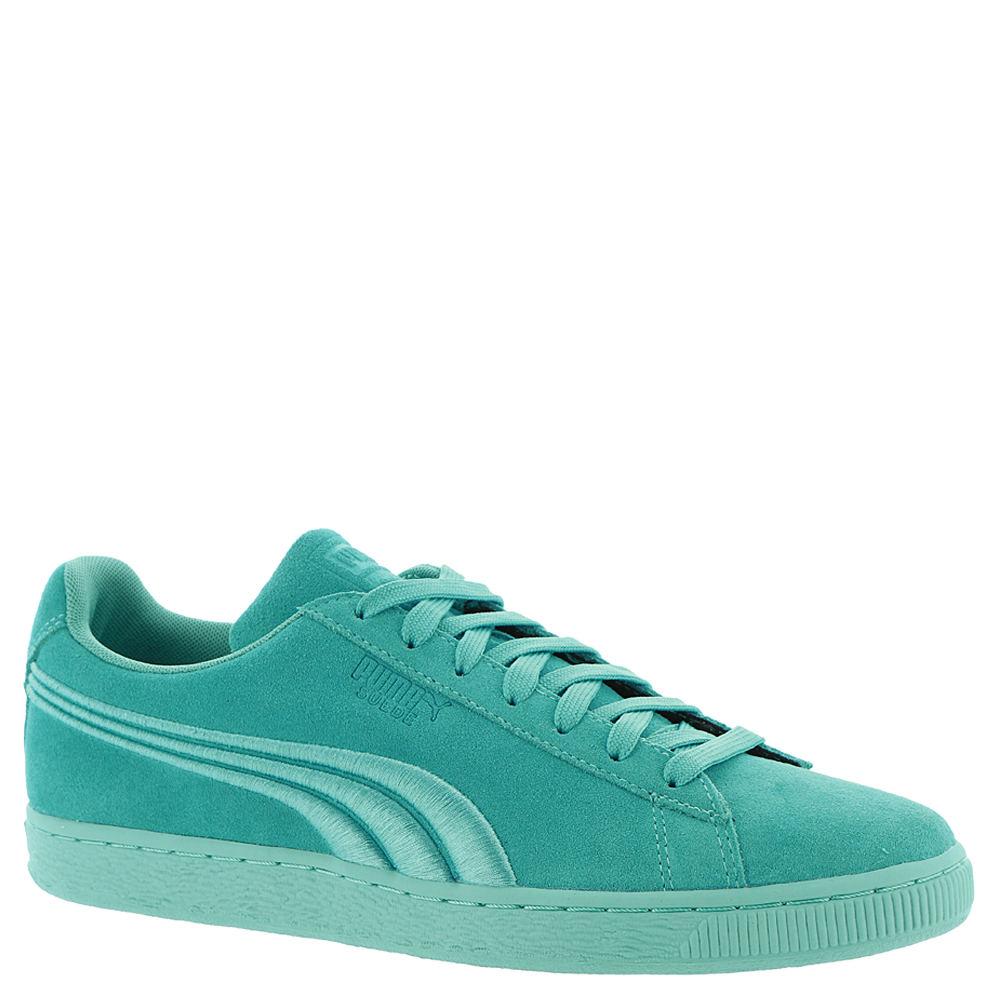 PUMA Suede Classic Badge Men's Blue Sneaker 11.5 M 647445BAT115M