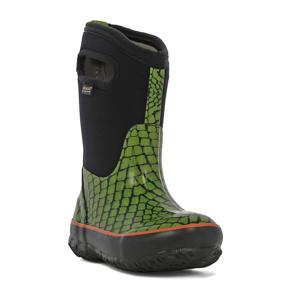 Bogs Classic Scales Boys' Toddler-Youth Green Boot 7 Todd...