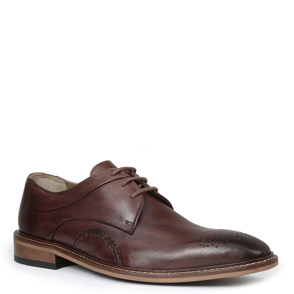 Giorgio Brutini Reddington Men's Brown Oxford 10 M