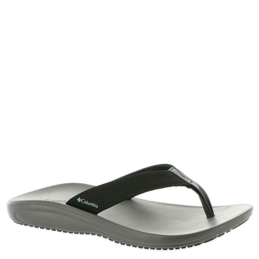 Columbia Barraca Flip Women's Black Sandal 7 M