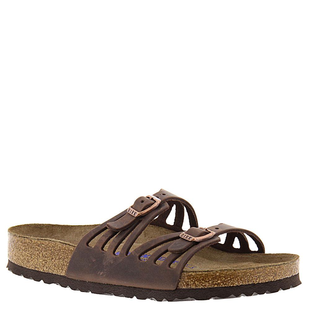 Birkenstock Granada Soft Footbed Women's Brown Sandal Eur...