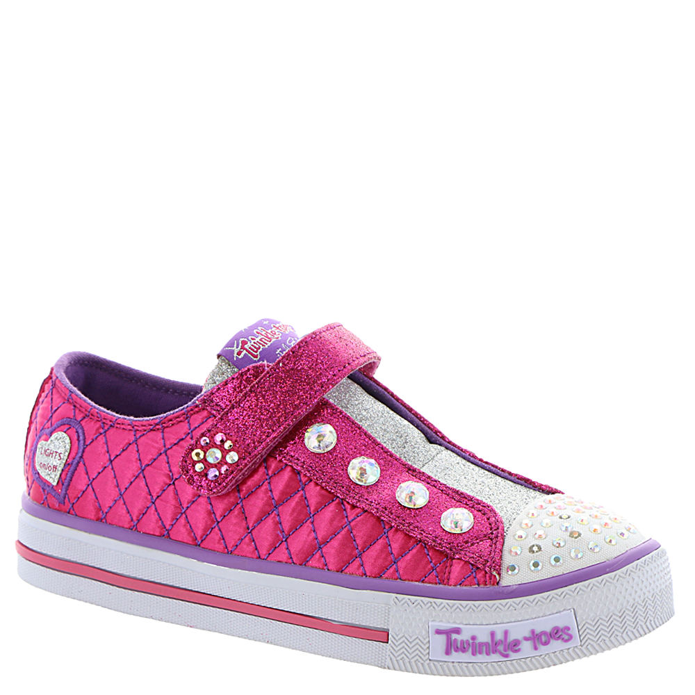 Skechers Twinkle Toes Shuffles-Sparkly Jewels Girls' Todd...