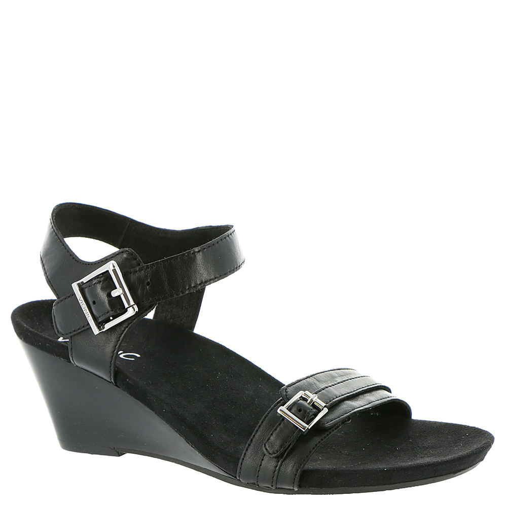 Vionic with Orthaheel Laurie Women's Black Sandal 7.5 W
