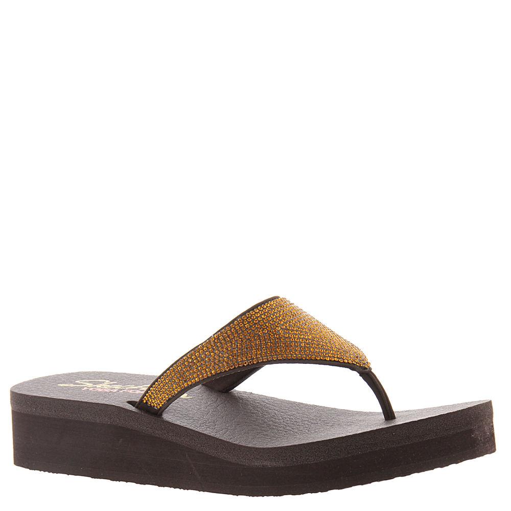 Skechers Cali Vinyasa-Nam On Women's Brown Sandal 10 M