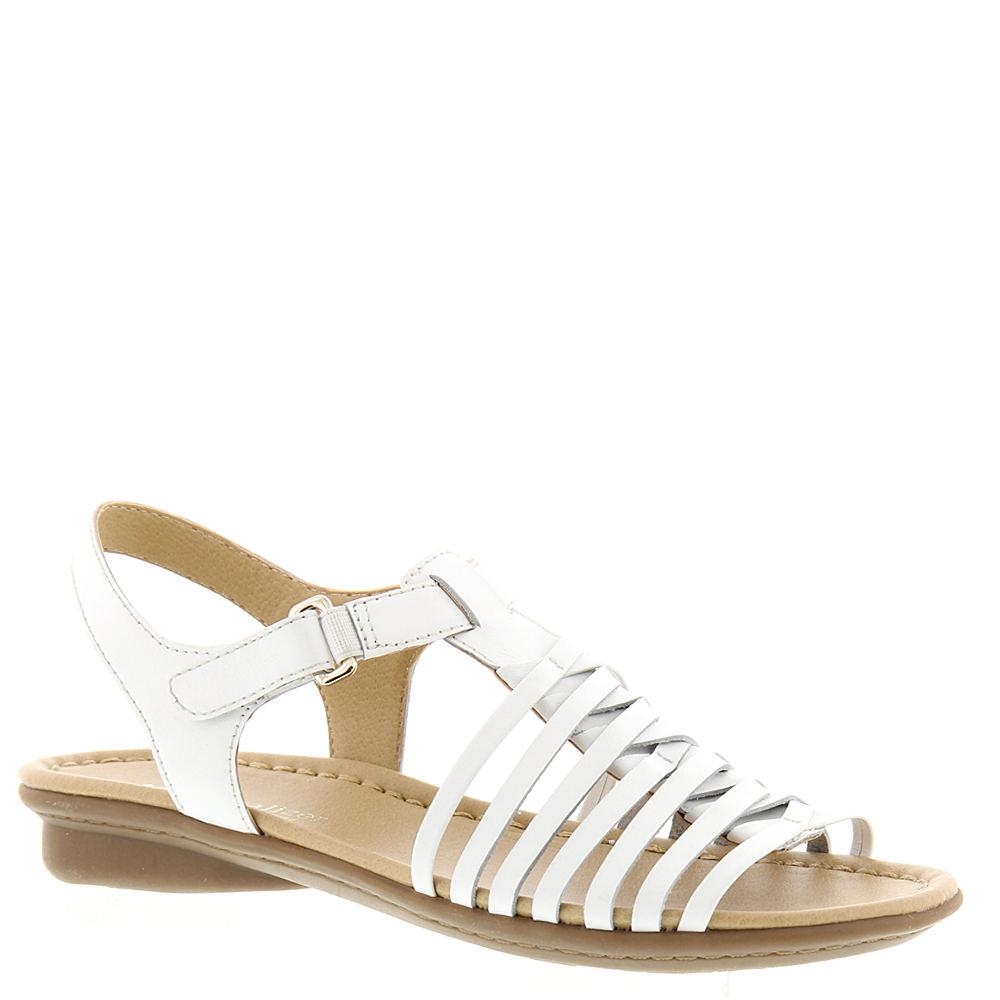 Naturalizer Wade Women's White Sandal 12 W