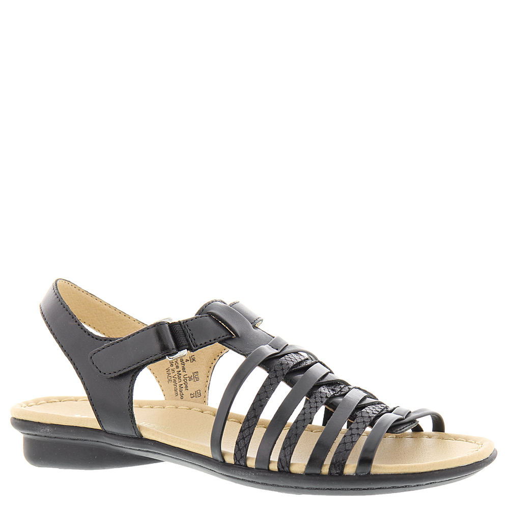 Naturalizer Wade Women's Black Sandal 6 N