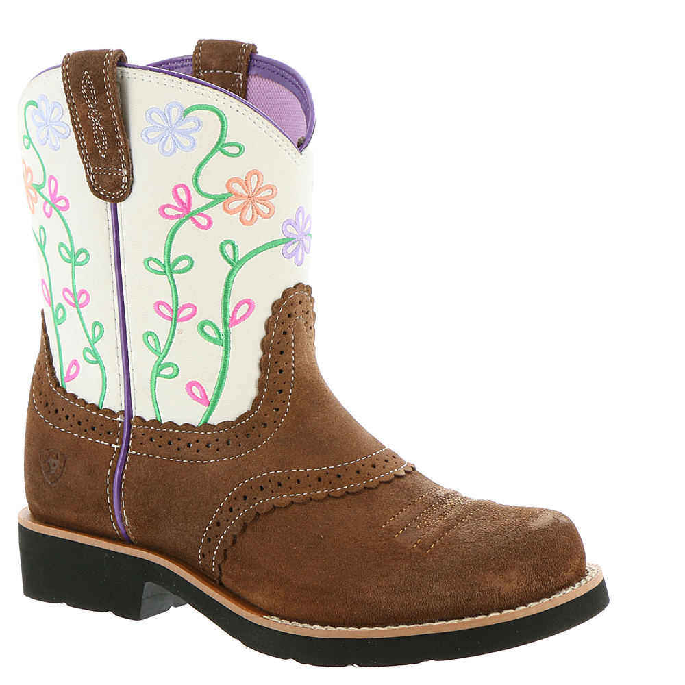 Ariat Fatbaby Blossom Girls' Toddler-Youth Brown Boot 12 ...