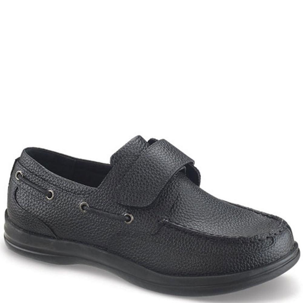Apex Digital Classic Strap Boat Shoes Men's Black Slip On...