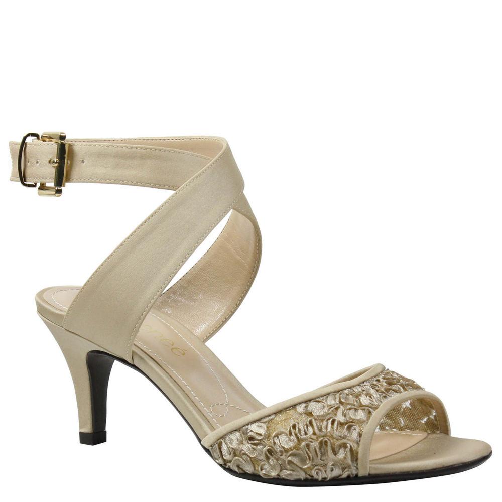 J. Renee Soncino Women's Bone Sandal 7.5 M