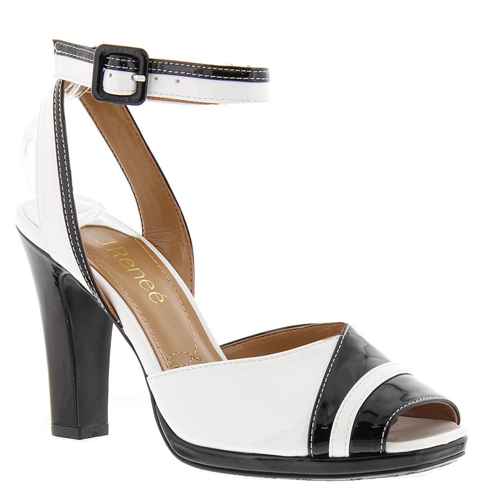 J. Renee Kinnon Women's Black Sandal 12 W
