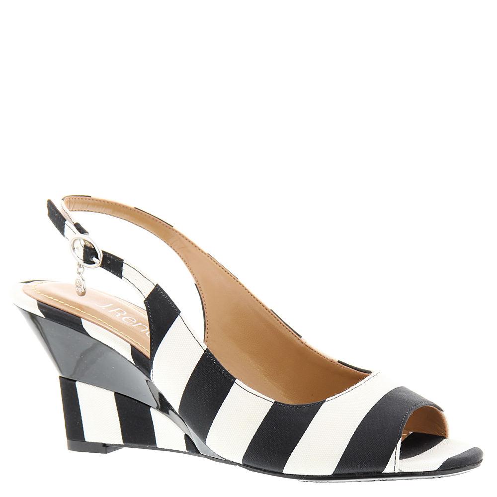 J. Renee Sailaway Women's Black Sandal 8 M