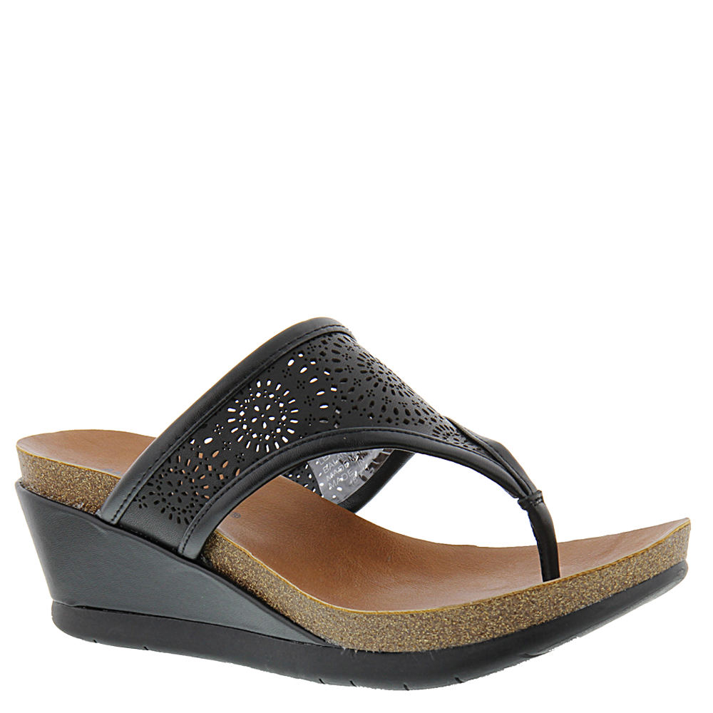 Minnetonka Victoria Women's Black Sandal 7 M