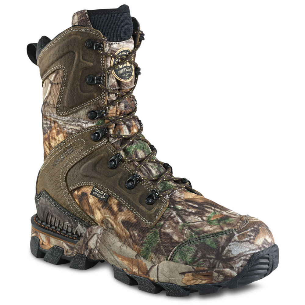 Irish Setter Deer Tracker Men's Brown Boot 9 D