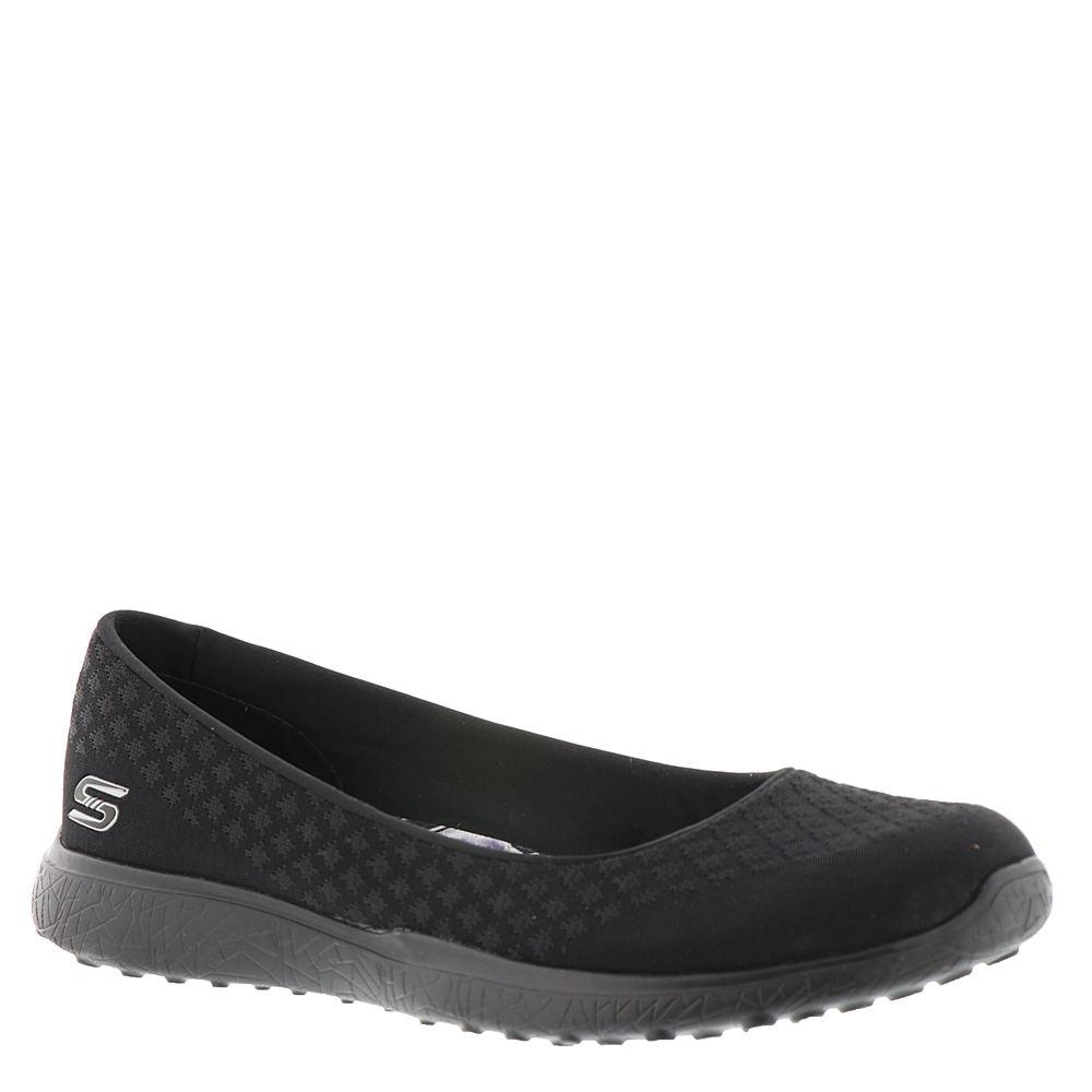 Skechers Active Microburst-One Up Women's Black Slip On 10 M 555523BLK100M