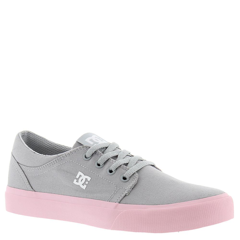 DC Trase TX Girls' Toddler-Youth Grey Oxford 13.5 Toddler M