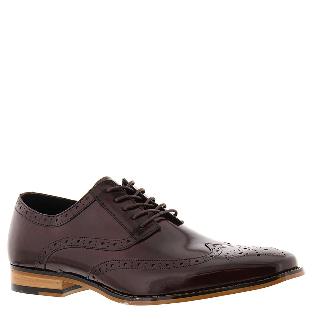 tinsley men Tinsley burgundy with black 25092-641 the tinsley, by stacy adams shoes is a wingtip oxford featuring brogue detailing pair this shoe with your favorite suit or wear them casual, the.