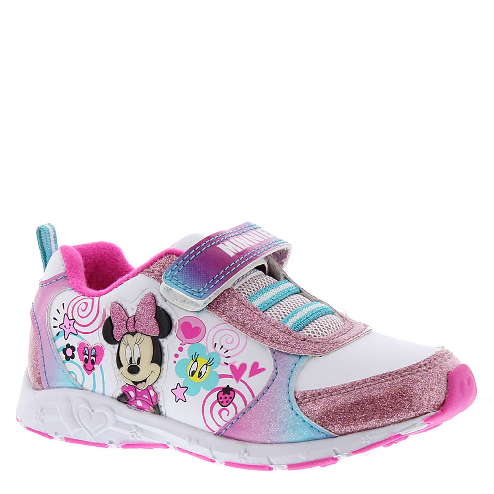 Disney Minnie Mouse Sneaker CH16527 Girls' Toddler White ...
