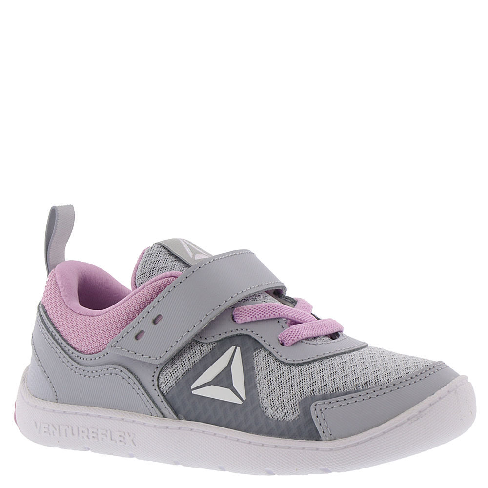 Reebok Ventureflex Stride 5.0 Girls' Infant-Toddler Grey Running 10 Toddler M 826243GRY100M