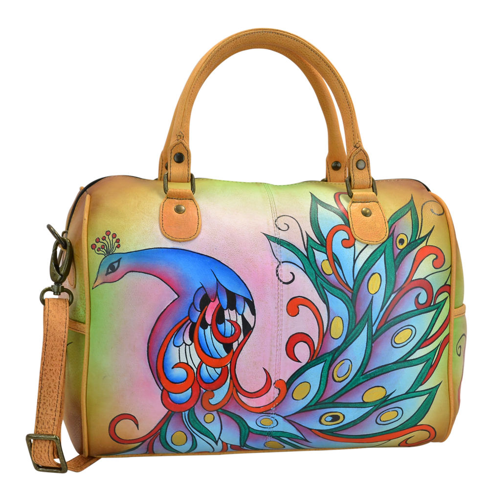 Anna by Anuschka Large Satchel Multi Bags No Size