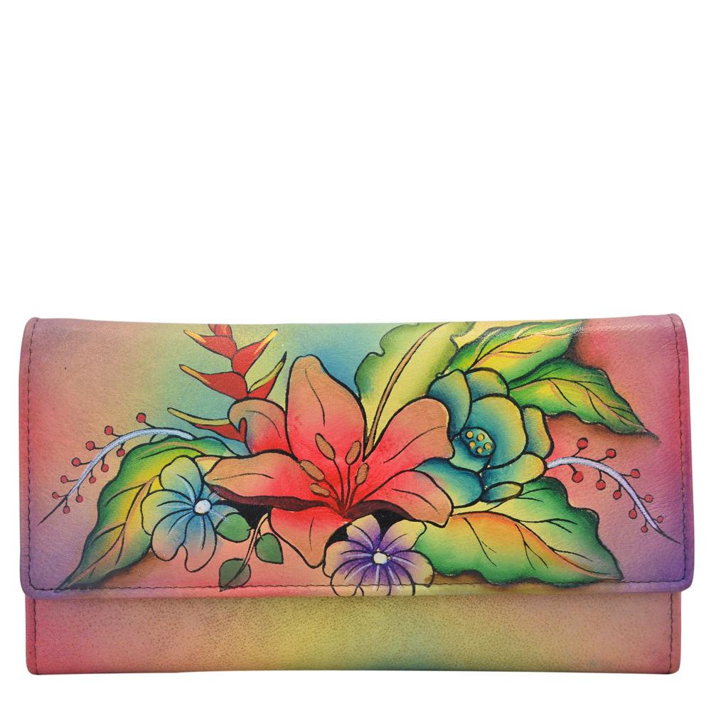 Anna by Anuschka Multi Pocket Wallet Multi Misc Accessori...