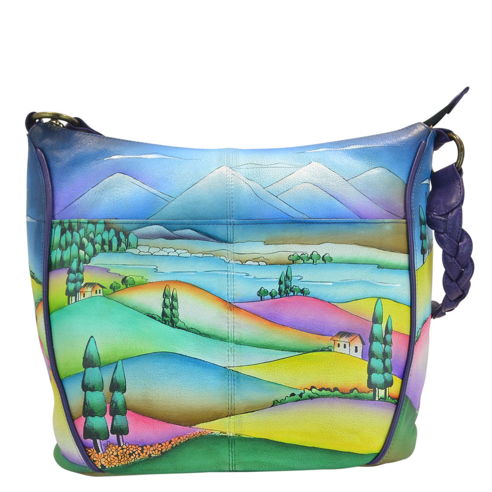 Anna by Anuschka Shoulder Hobo Multi Bags No Size