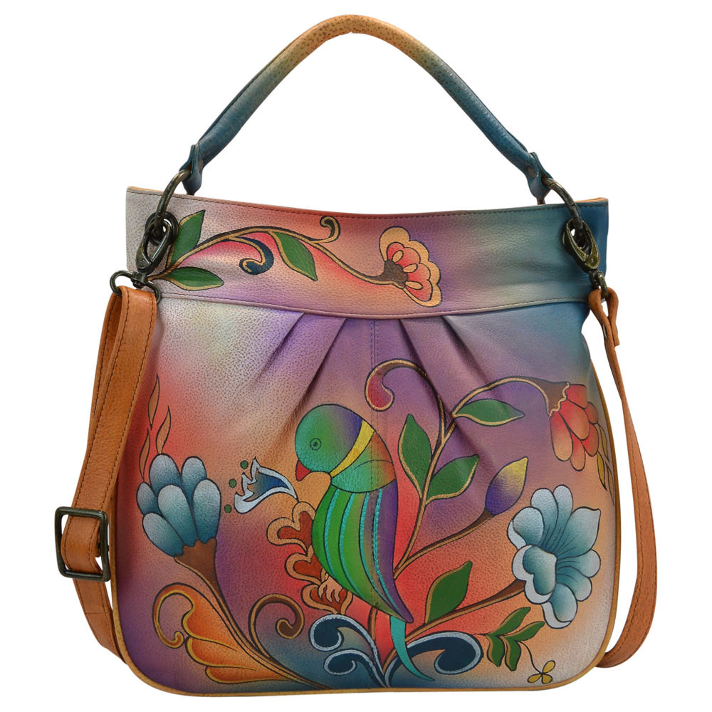 Anna by Anuschka Large Convertible Tote Multi Bags No Size