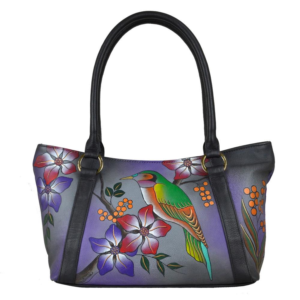 Anna by Anuschka Medium Tote - Top Zip Multi Bags No Size