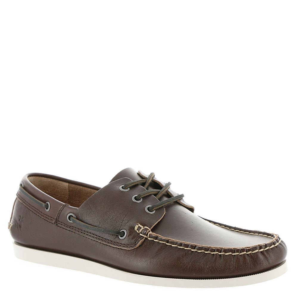 Frye Company Briggs Boat Shoe Men's Brown Slip On 12 M