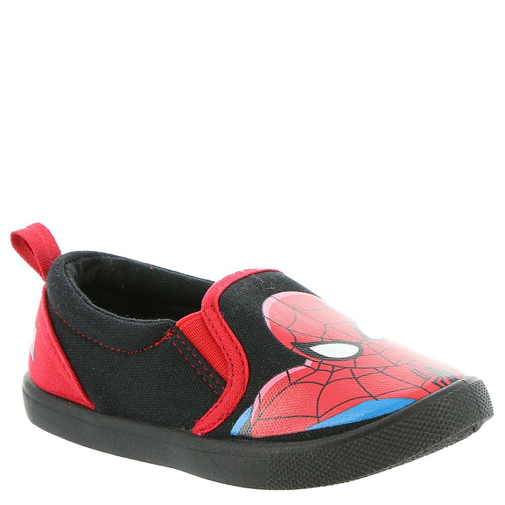 Marvel Spiderman Slip On SPS715 Boys' Toddler Black Slip On 12 Toddler M 823729BLK120M