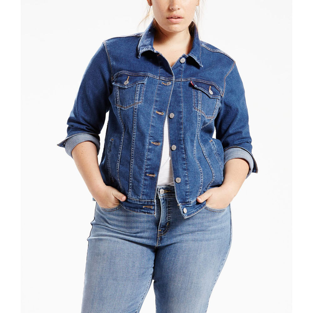 Levi's Women's Trucker Jacket Blue Jackets 1X