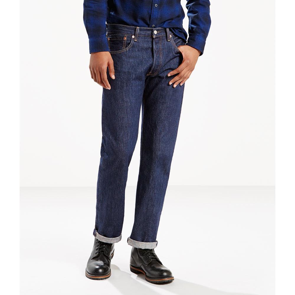 Levi's Men's 501 Levi's Original Fit Jeans Blue Pants 32-34