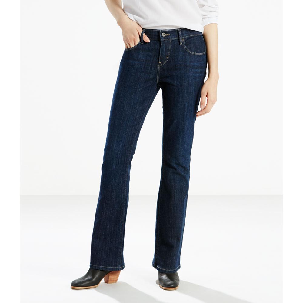 Levi's Women's 515 Bootcut Jeans Blue Pants 18-Short