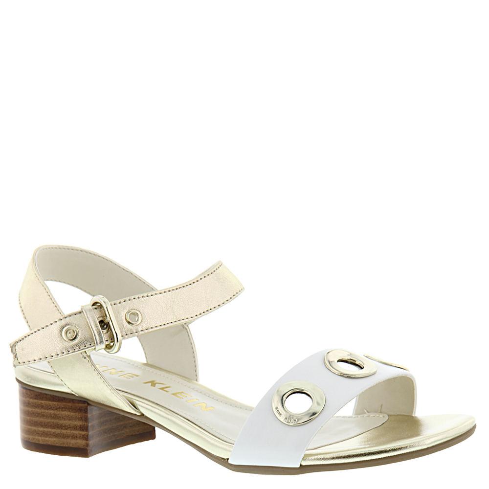 Anne Klein Ellamae Women's Gold Sandal 8.5 M