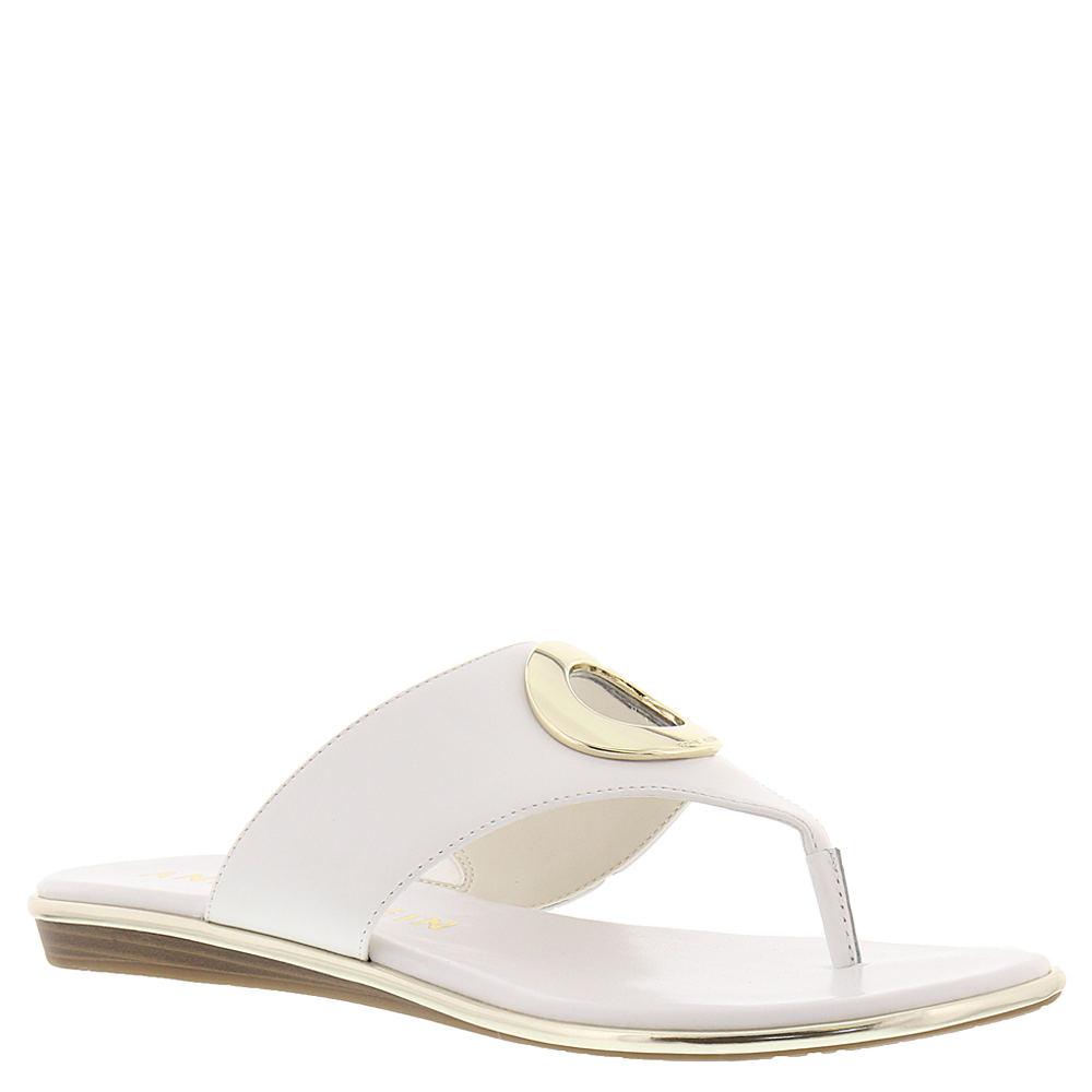 Anne Klein Gia Women's White Sandal 6 M