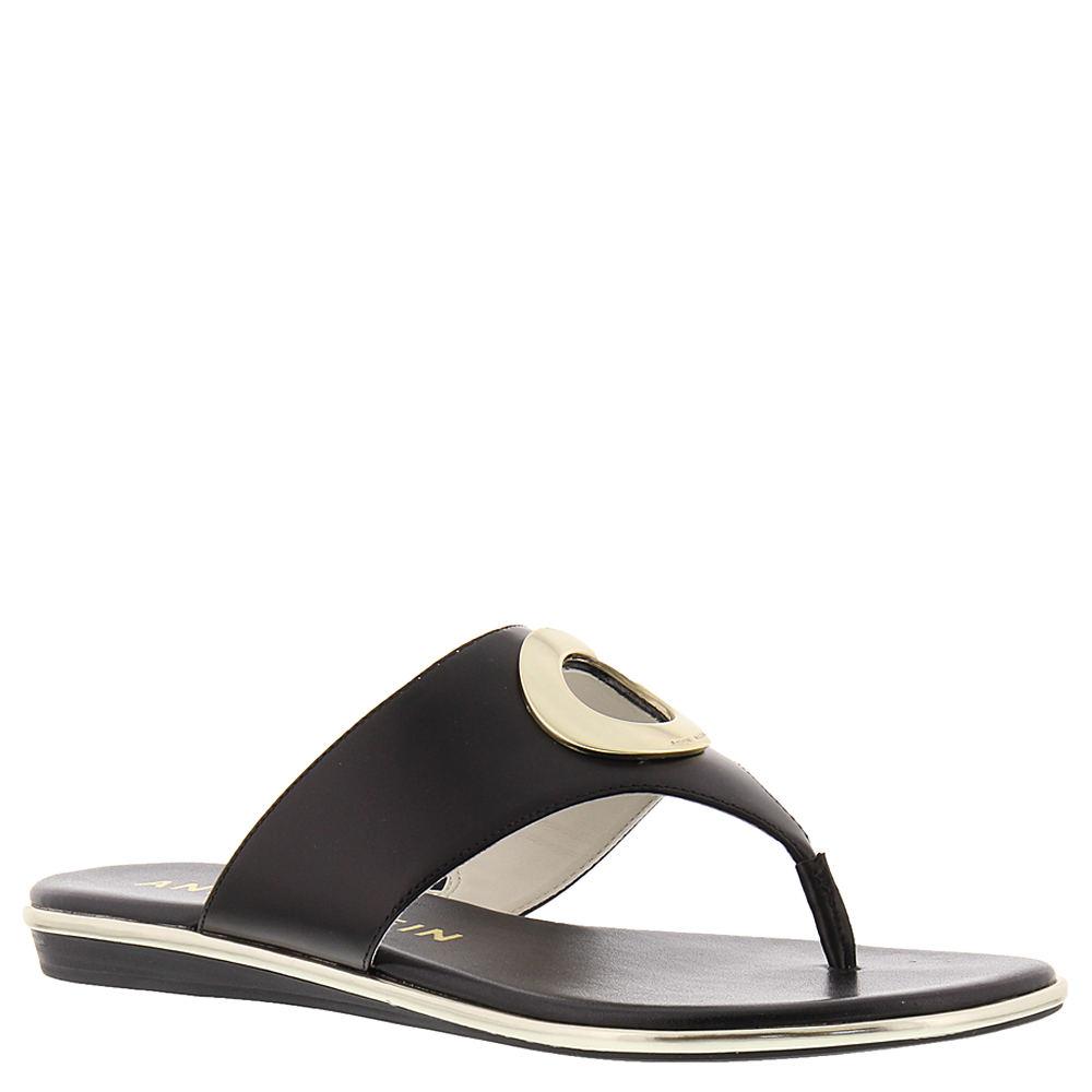 Anne Klein Gia Women's Black Sandal 7.5 M
