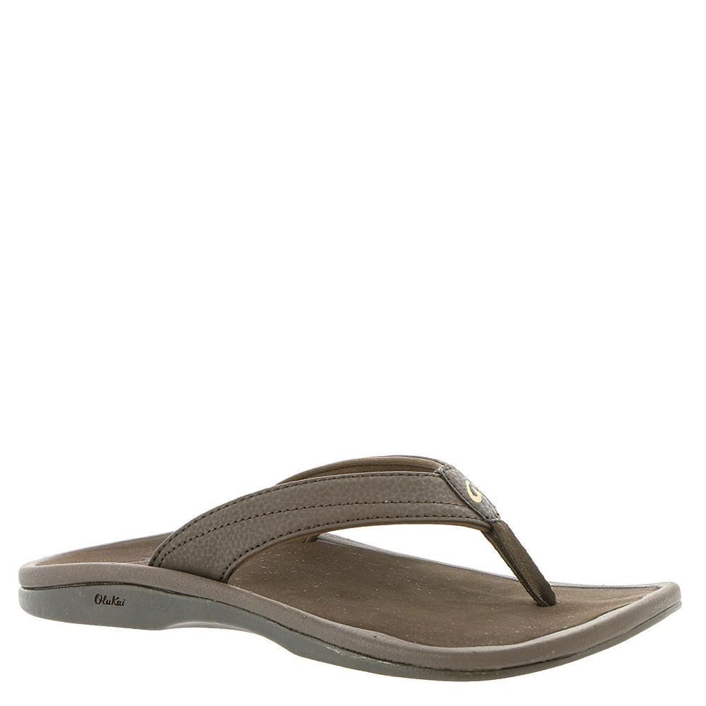 OluKai Ohana Women's Brown Sandal 9 M