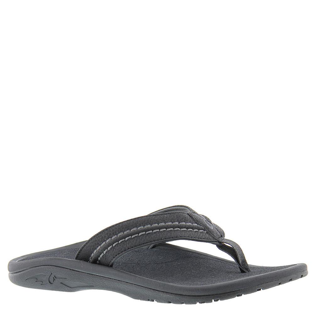 OluKai Hokua Men's Black Sandal 13 M