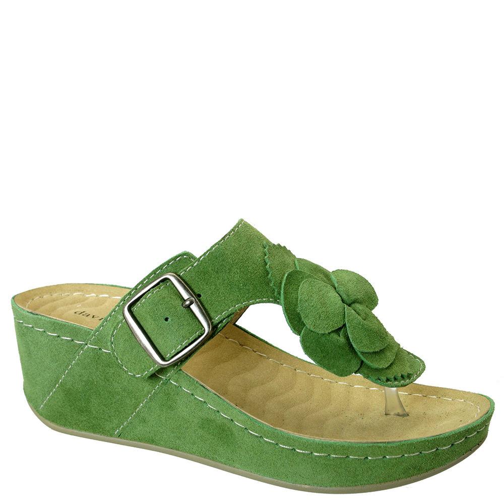 David Tate Spring Women's Green Slip On 8.5 B