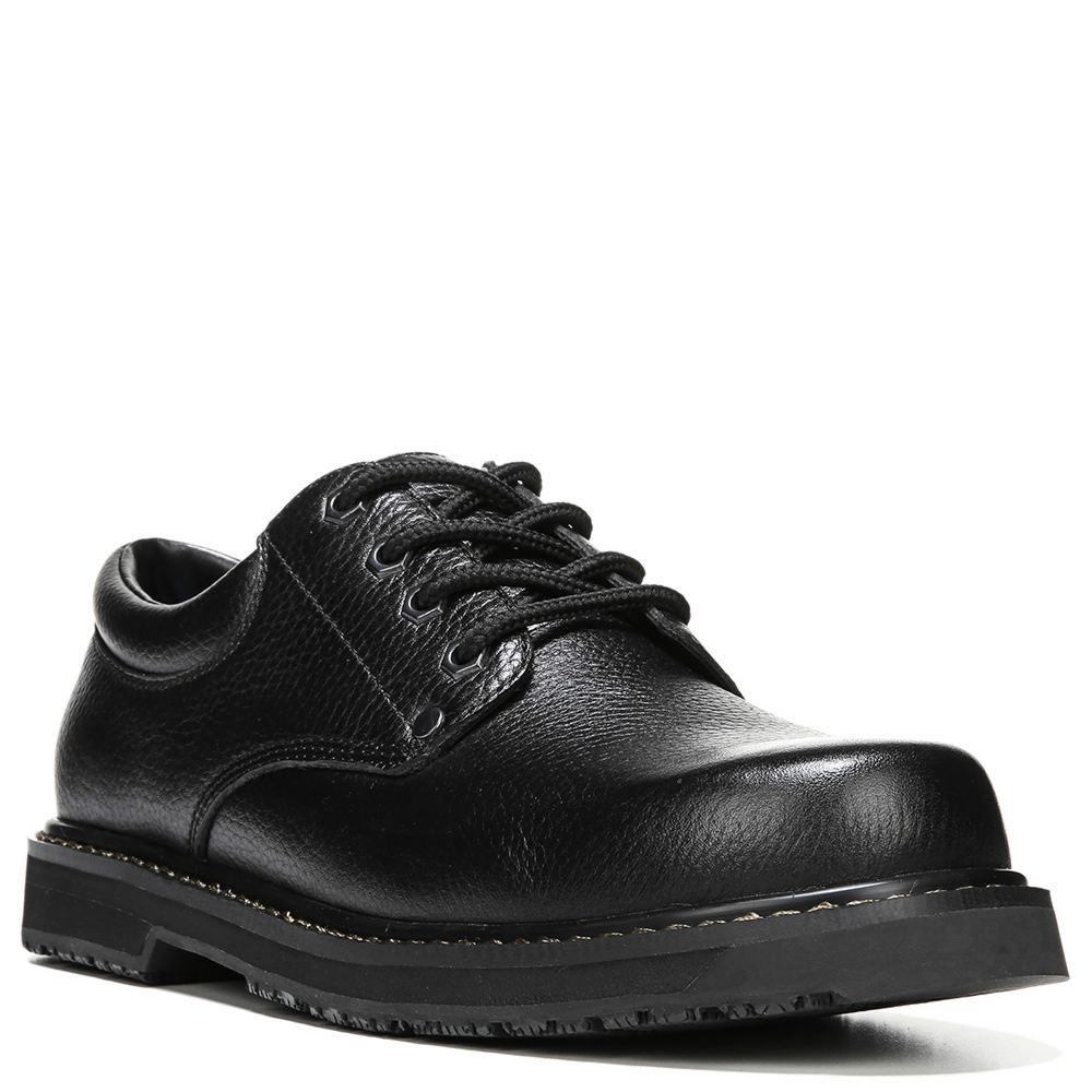 Dr. Scholls Harrington II Men's Black Oxford 10 W