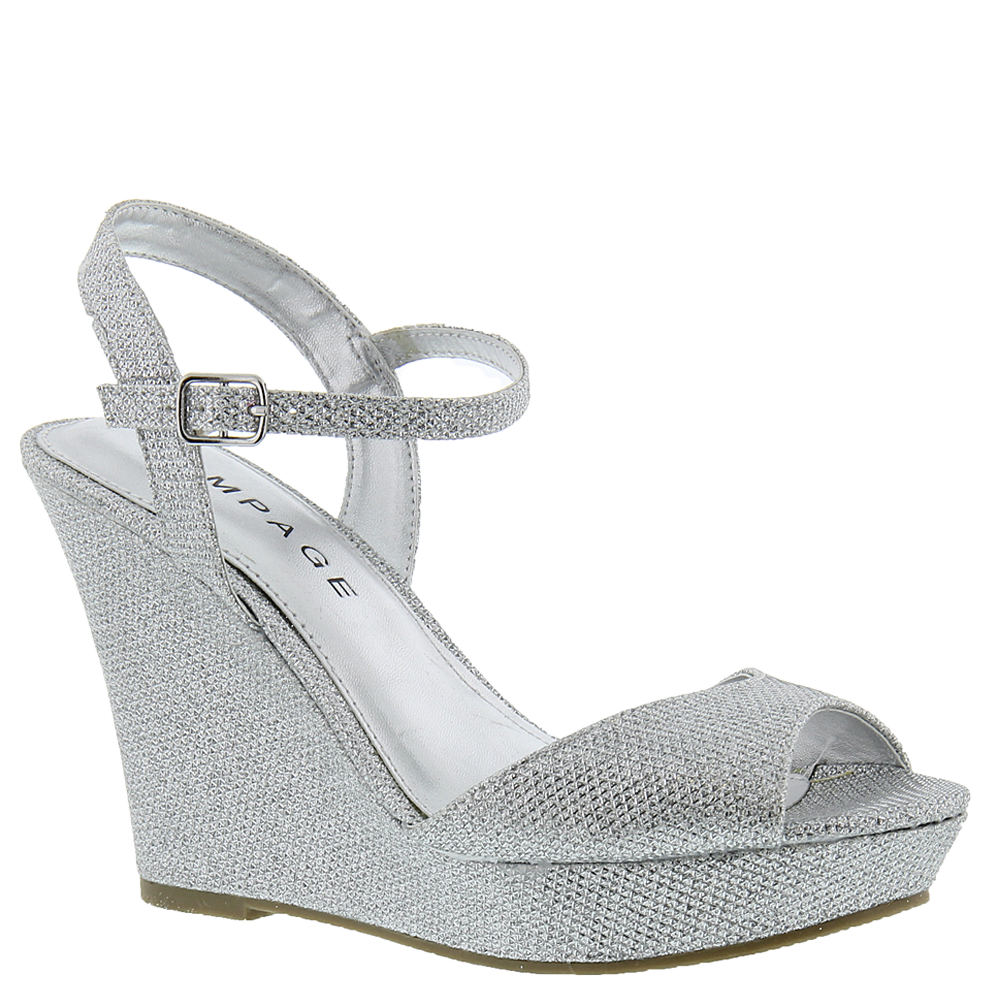 Rampage Crissy Women's Silver Sandal 7.5 M