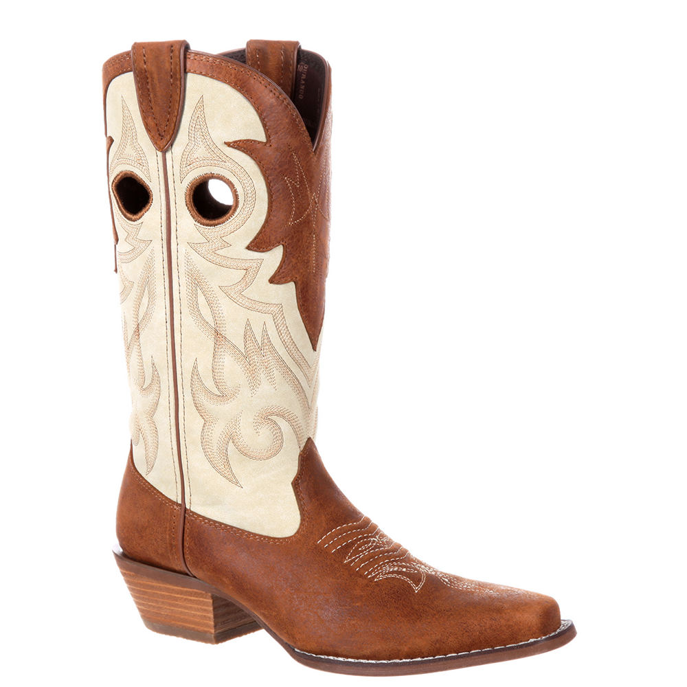 Durango Crush Classic Western Women's Tan Boot 10 M