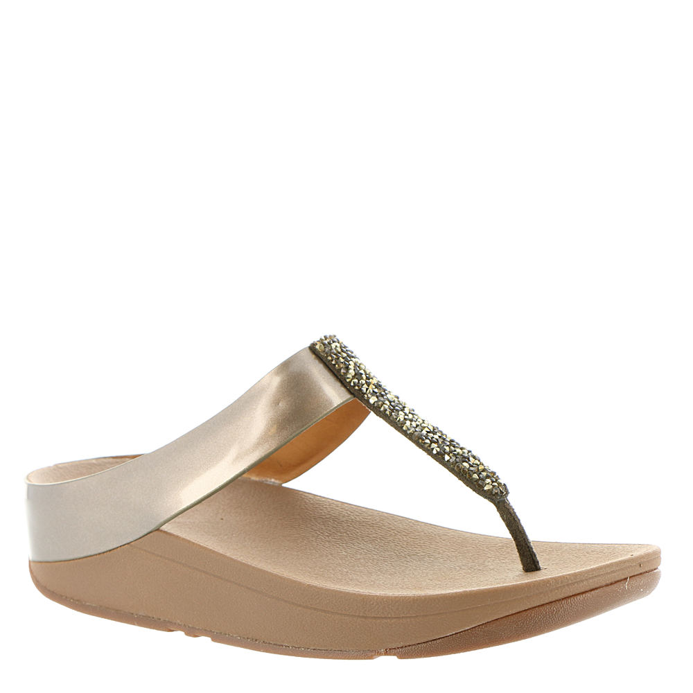 Fitflop Fino Toe Post Women's Bronze Sandal 7 M