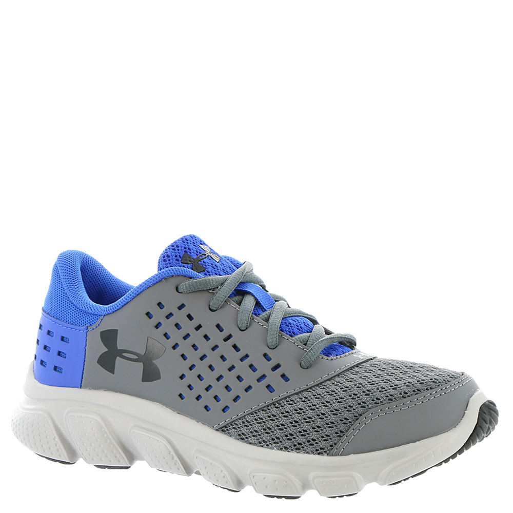 Under Armour BPS Micro G Rave RN Boys' Toddler-Youth Grey...