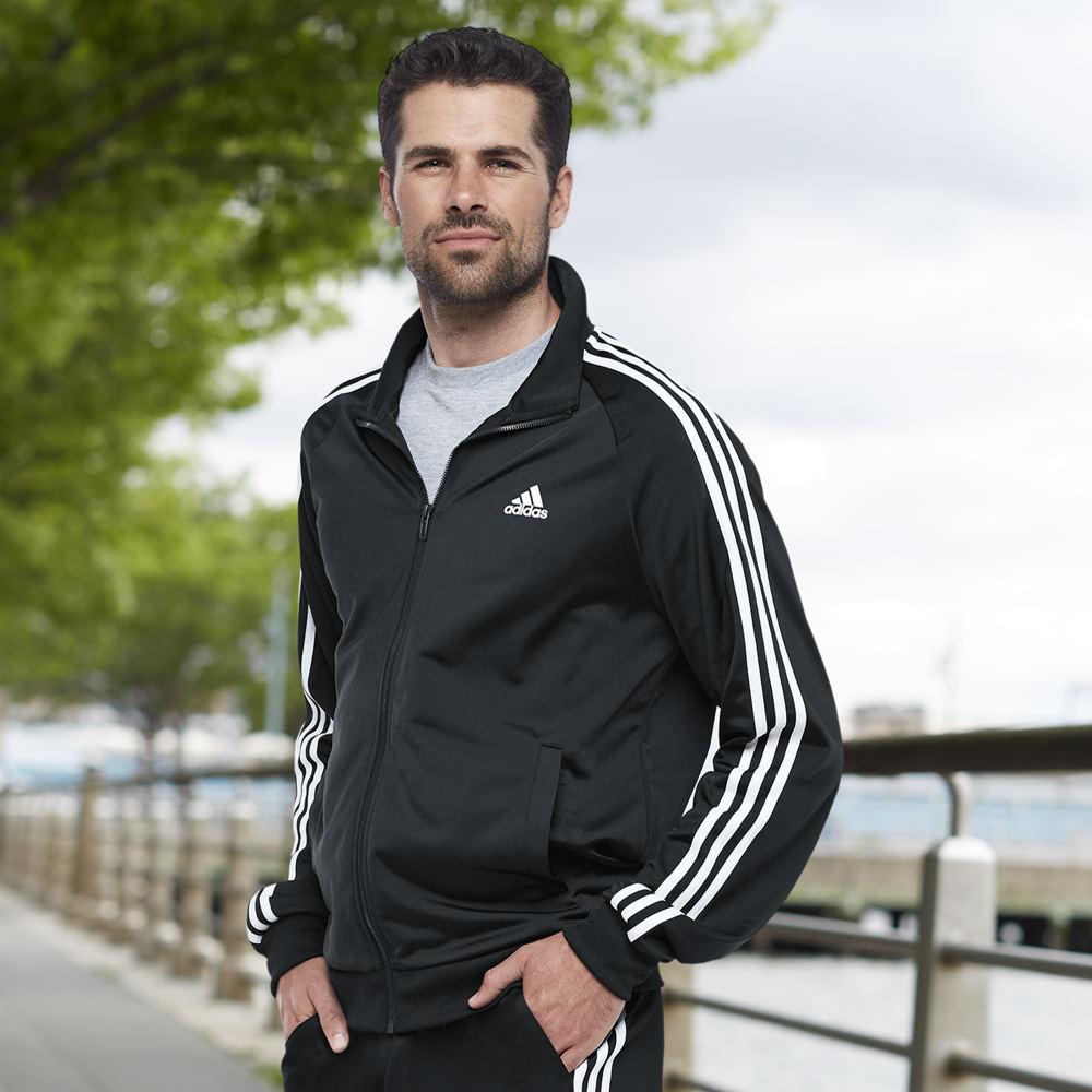 Adidas Men's Essentials Track Jacket White Jackets XXL 712272WHT2XL