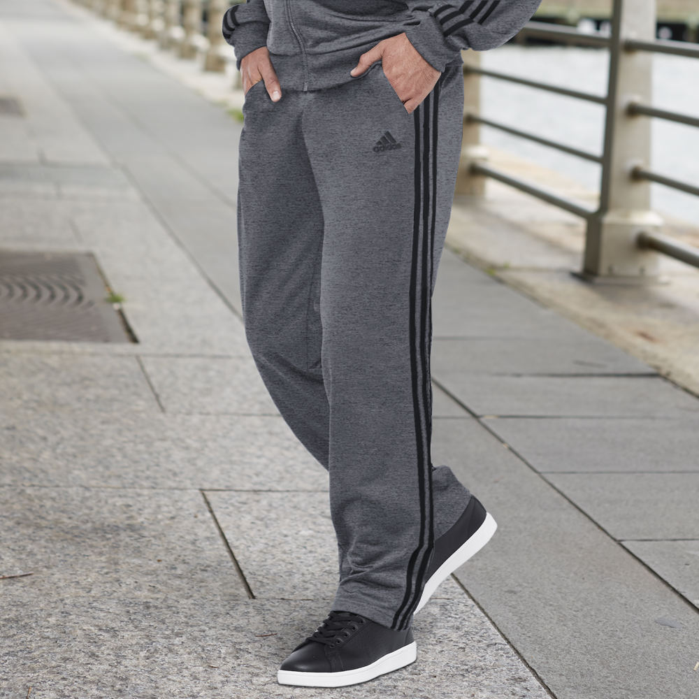 Adidas Men's Essentials Track Pants Grey Pants M-Regular 712274GRYM