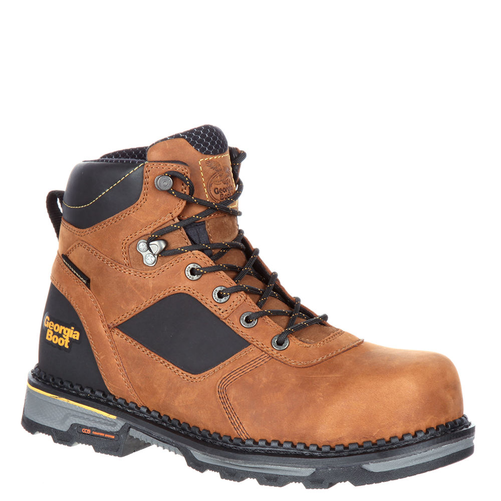 Georgia Boot Hammer HD Men's Brown Boot 11 W