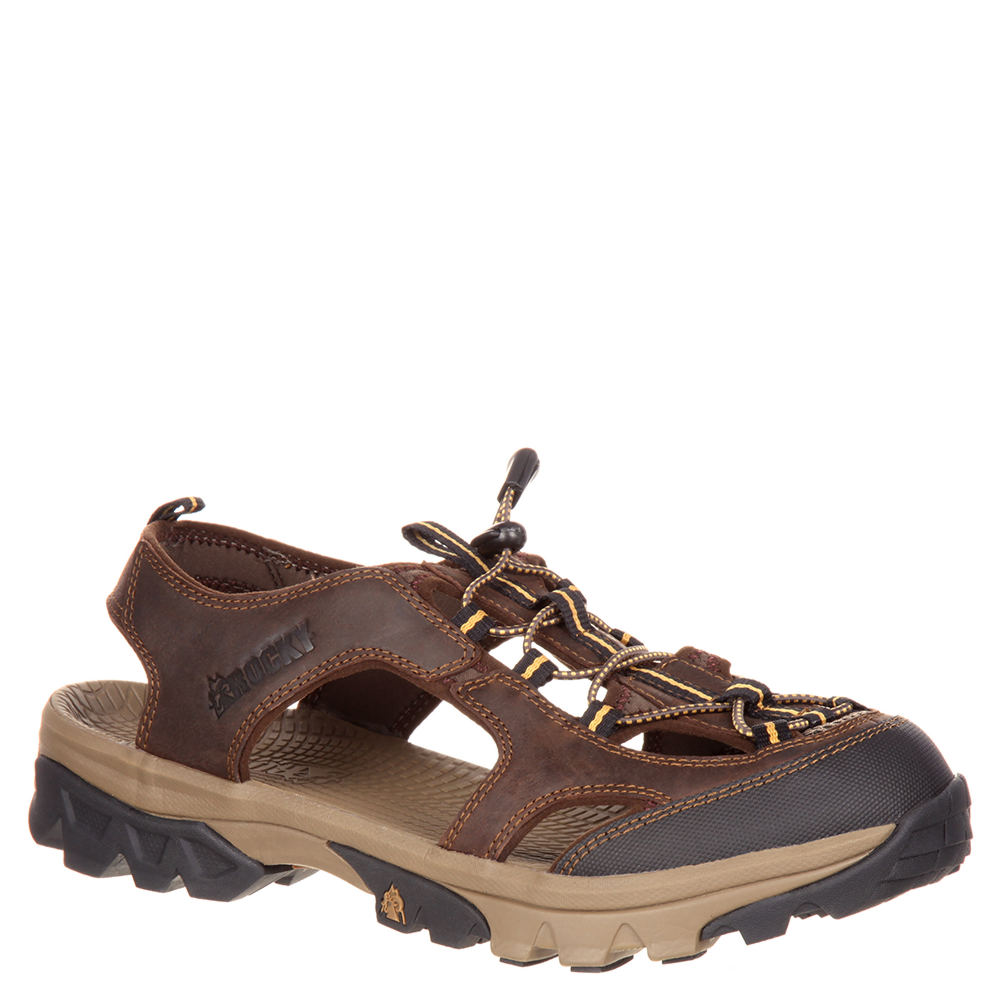 Rocky Endeavor Point Hiker Sandal Men's Brown Sandal 11 W