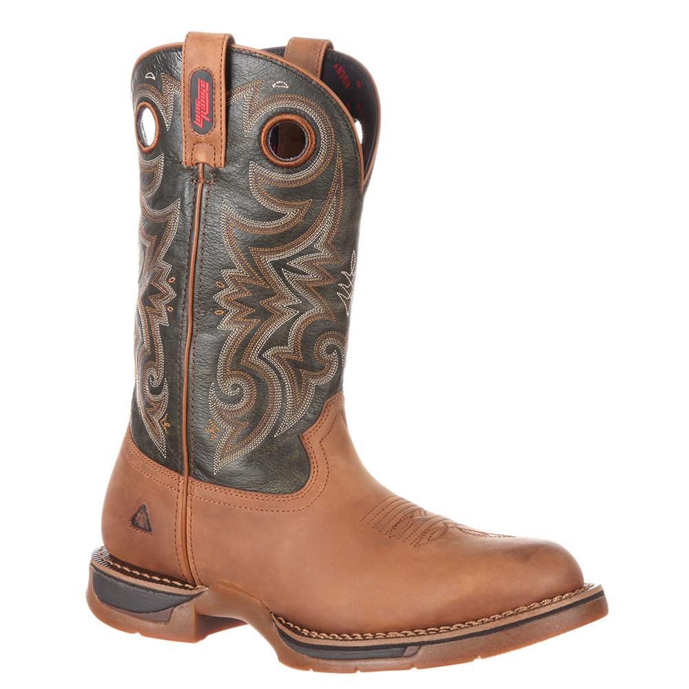 Rocky Western Long Range 0188 Men's Brown Boot 11.5 M
