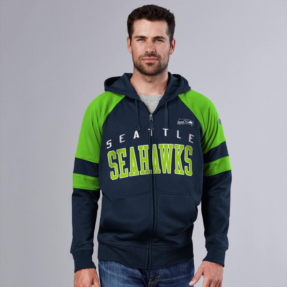 Men's NFL League Full-Zip Hoodie Multi Jackets L 712308SWKL